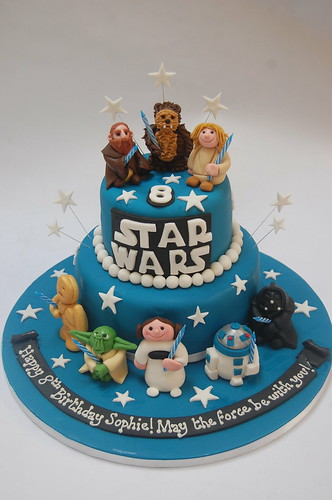 Terrific Biggest And Best Star Wars Cake Beautiful Birthday Cakes Funny Birthday Cards Online Fluifree Goldxyz