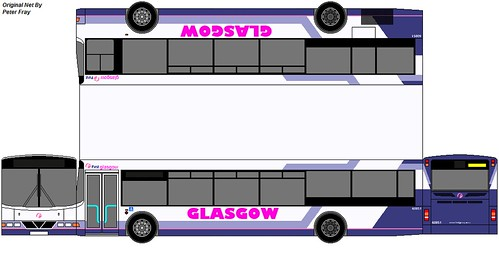 Volvo B10ble First Glasgow New Livery If First Glasgow