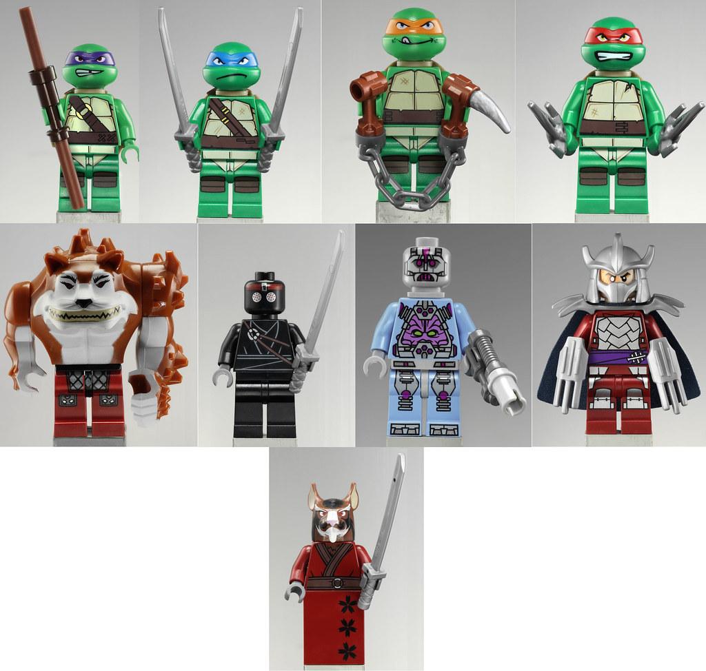 Lego tmnt i 39 m in it 39 s no secret i 39 m not the biggest for Lago tartarughe