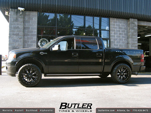 ford f150 harley davidson edition with 20in fuel throttle. Black Bedroom Furniture Sets. Home Design Ideas