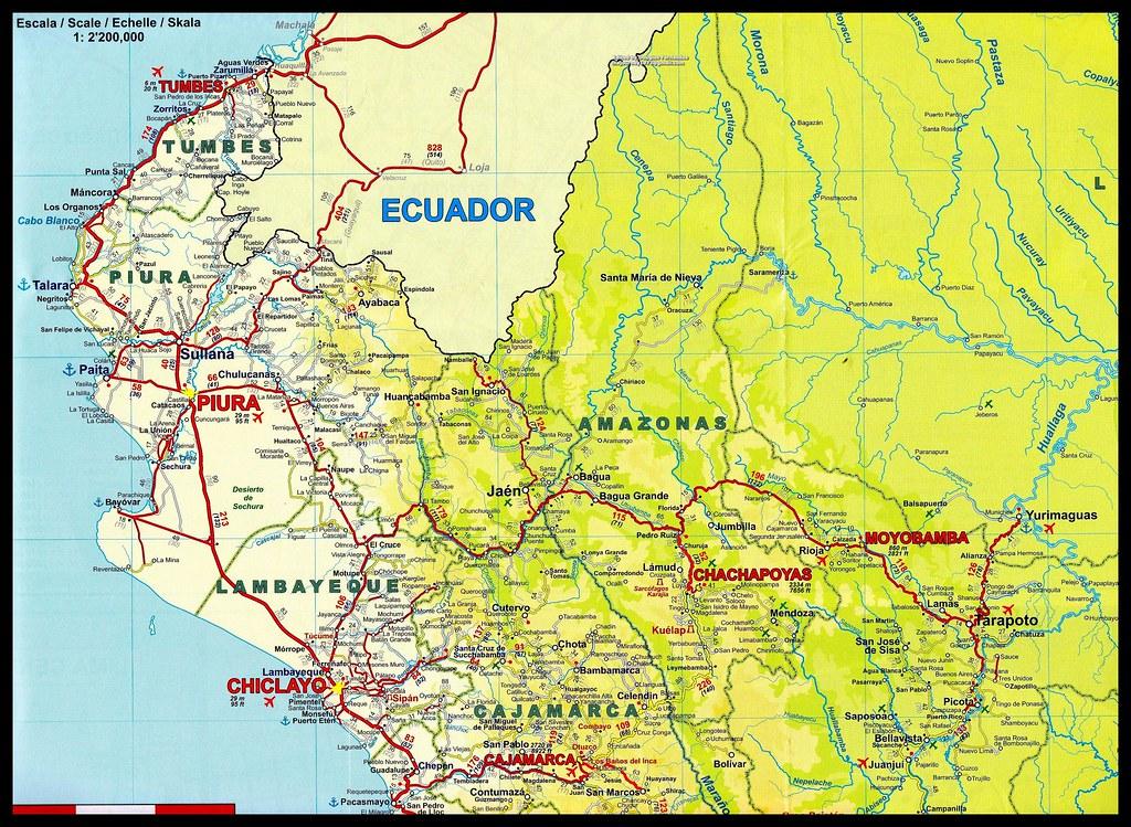 Mapa Vial Del Per 250 15 Mapa Vial Peru 13edit Flickr