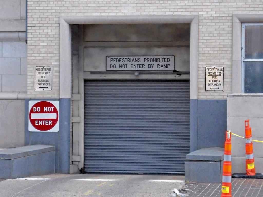 Garage Entrance, Dalla...