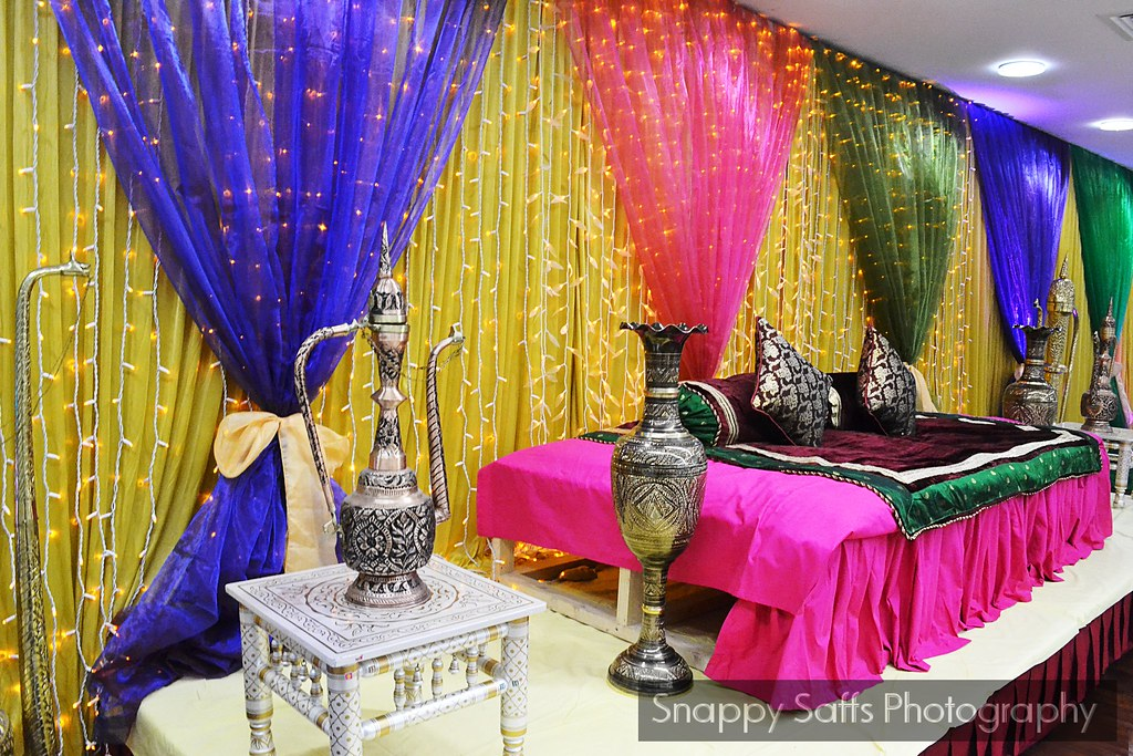 Mehndi Stage Decoration Dailymotion : Mehndi party stage snappy saffs flickr