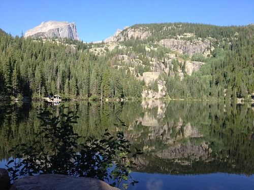 Bear Lake in the Rocky Mountains | by deibel