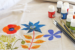 Painting on linen | by Geninne