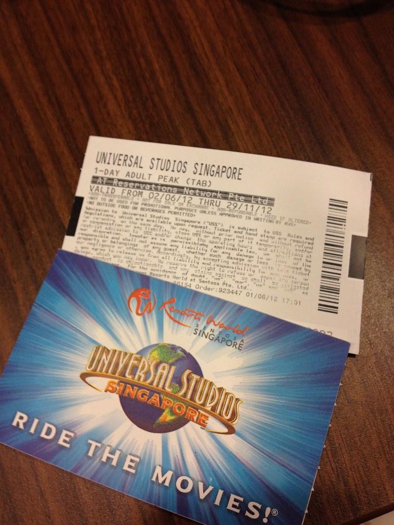 universal studios ticket