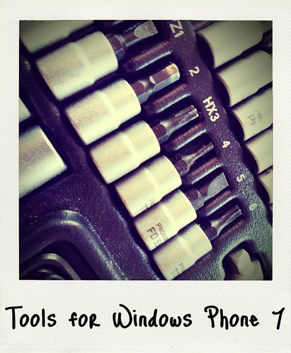 Tools for Windows Phone 7 | by photog_at