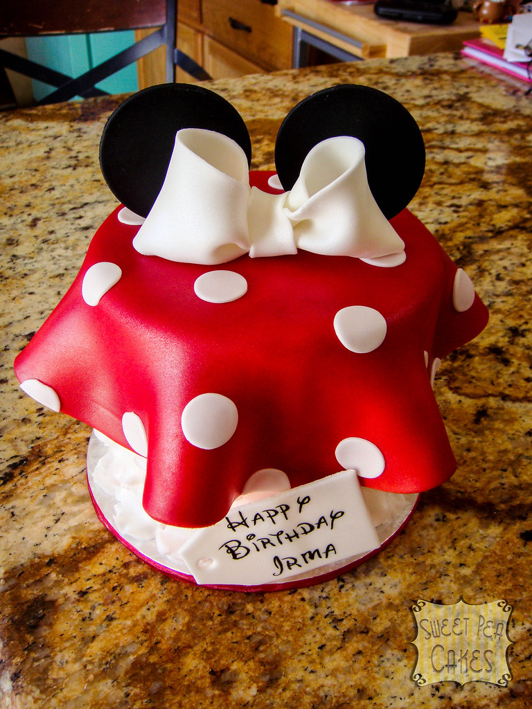 Minnie Mouse Cake Topper Canada