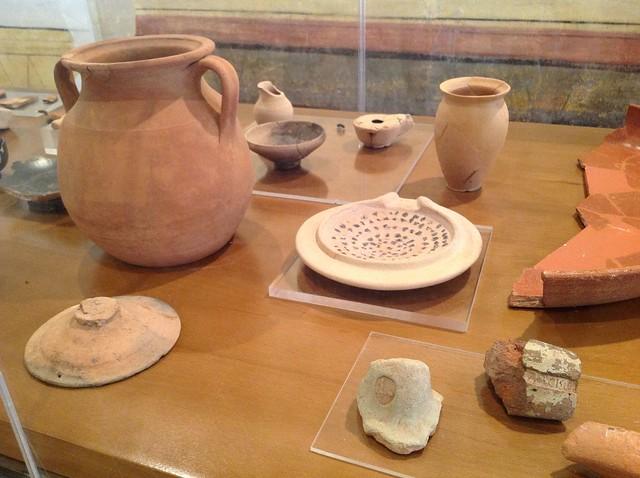 Instrumentos de cocina objetos de poca romana flickr for Instrumentos de cocina