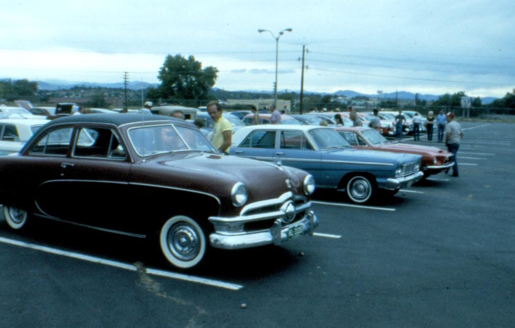 1950 Ford Crestliner 1965 Fairlane 500 4 Door Sedan