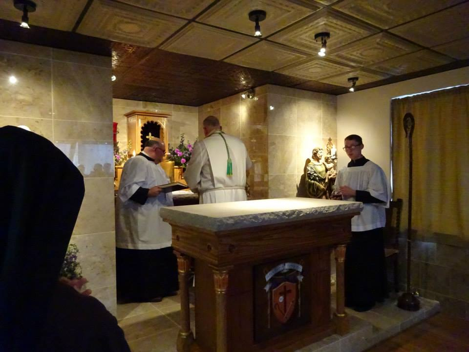 Blessing of Chapel