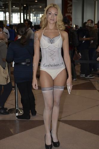 Geekenheim Model Jessica Moore Actress Singer Model