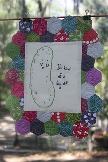 PIF Gift for Bree and Old Red Barn Co. Quilt Challenge Throwdown finish | by JuliePickles