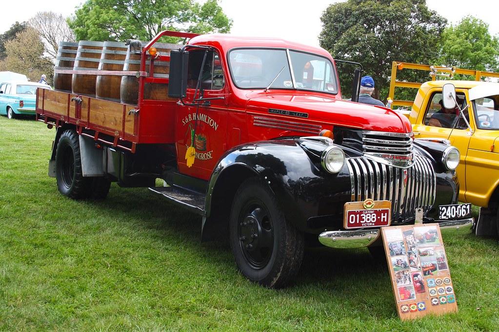 1942 Chevrolet Quot Maple Leaf Quot Truck A Canadian Built Chevy