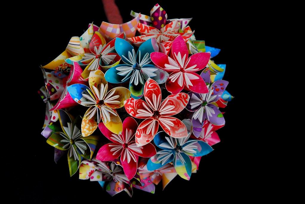 My DIY Kusudama Flower Bouquet | Jowee | Flickr