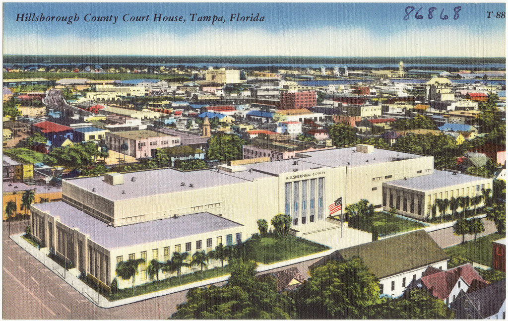 Hillsborough County Court House, Tampa, Florida | File name ...