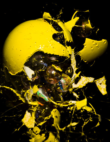 Yellow Marbles | by WideEyedIlluminations