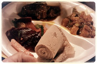 Ras Dashen dishes cooked with Goose Island Matilda at Chef Battle Royale 2012 | by Louisa Chu