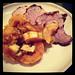 Pork chops and squash