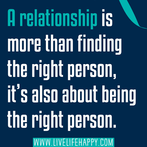 Finding the right person to love quotes