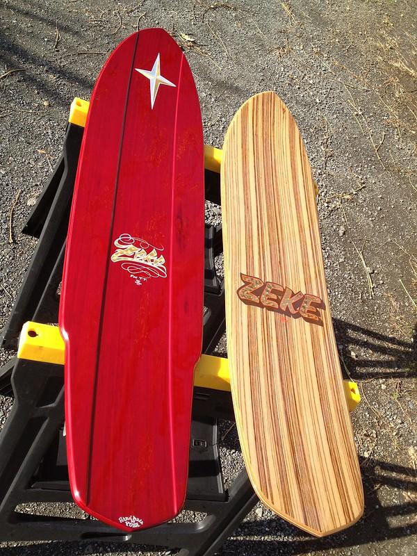 KEN THE FLATTOP Snow boards.