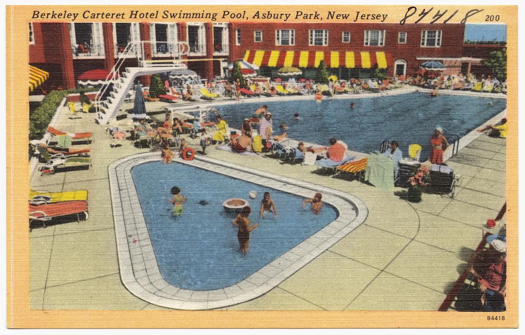 Berkeley Carteret Hotel swimming pool Asbury Park