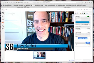 Google+ Hangouts with Lower Thirds | by stevegarfield