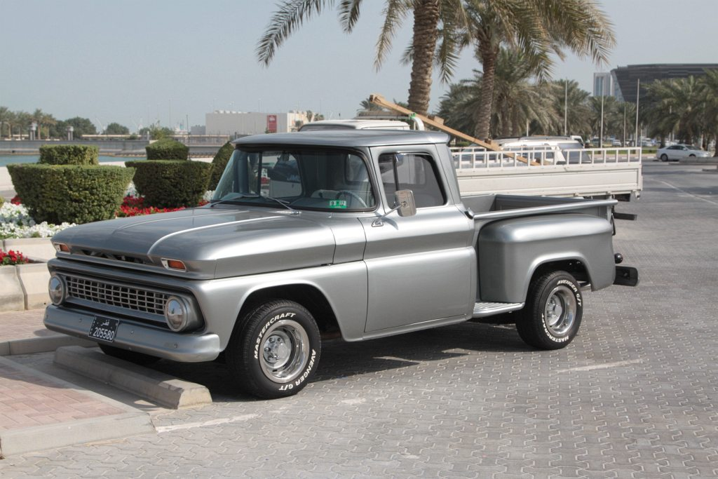 Restored old-school pickup truck in the Middle East | Flickr