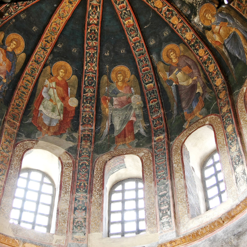 Angels in Chora Church, Istanb...