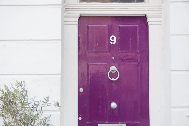 purple door in London
