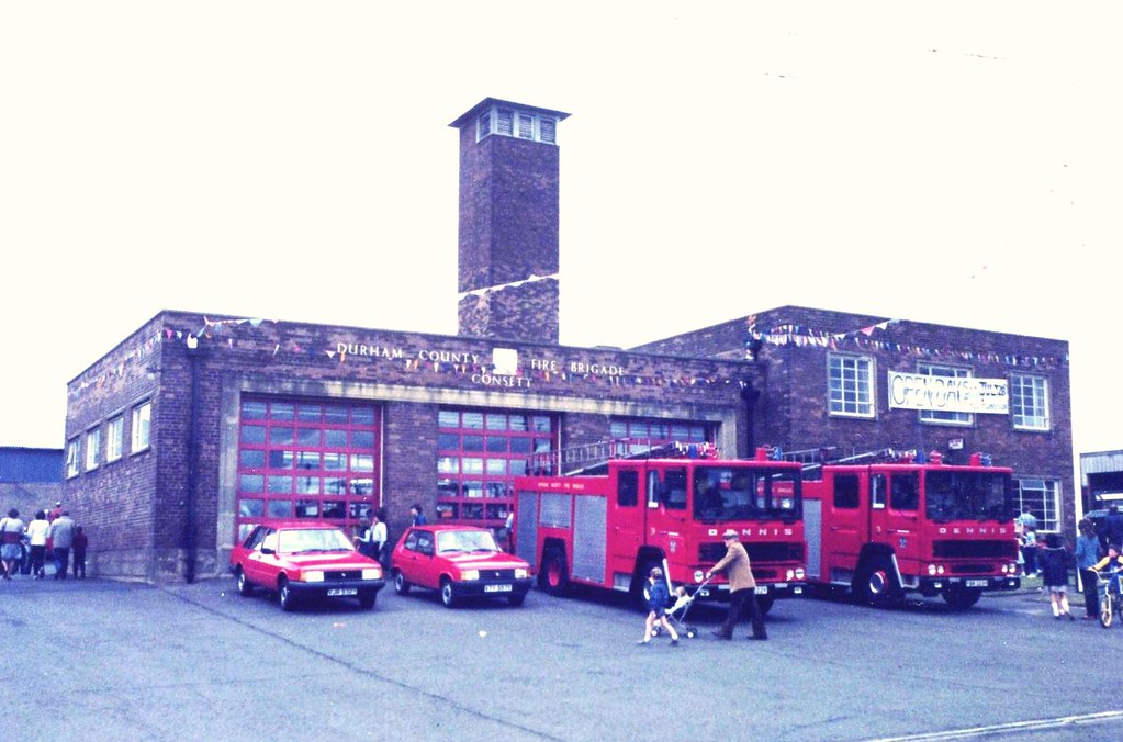 Durham County Fire Brigade Consett Fire Station 28 July Flickr