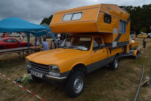 12 1984 peugeot 504 pick up nacelle camping car 8576 wh 37. Black Bedroom Furniture Sets. Home Design Ideas