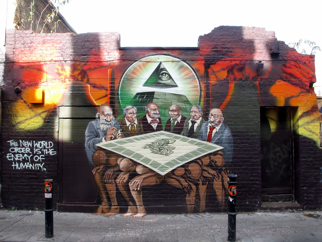 The New World Order is the enemy of humanity | By Mear One ...