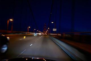 Crossing The Bridge, October 07, 2012