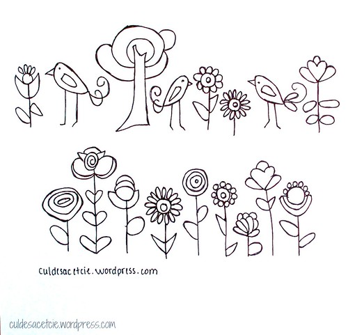 Free Embroidery Patterns  Found Them Here Culdesacetcie