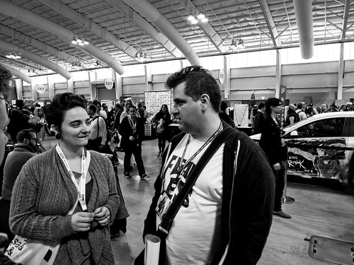 NYCC 2012: Robin and Sims catch up. | by Kevin Church