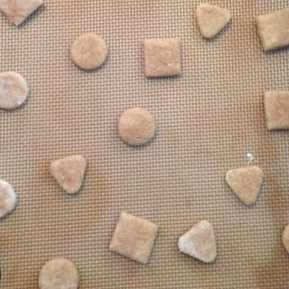 Making homemade dog biscuits for Molly. Just winging it. Should I post recipe if it works out? | by yougrowgirl