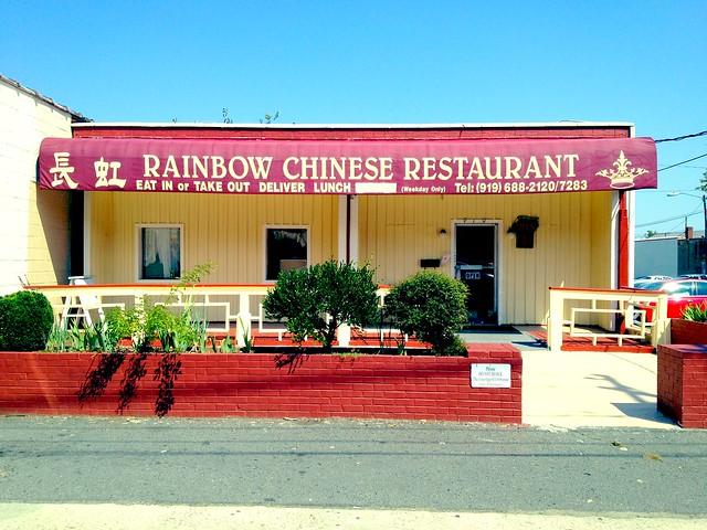 Rainbow Chinese Restaurant Durham Nc Flickr Photo