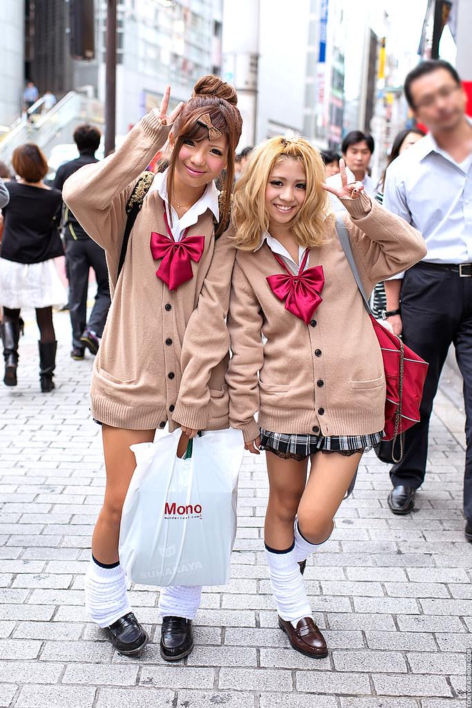 Kogal Style Shibuya These Friendly Japanese Girls Are Doi Flickr
