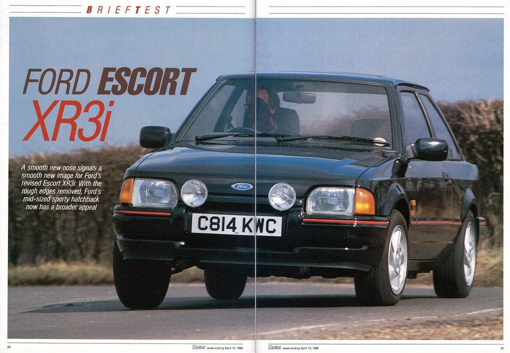 ford escort xr3i mk4 road test 1986 flickr. Black Bedroom Furniture Sets. Home Design Ideas