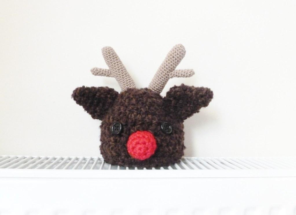 Crochet Pattern For Rudolph Hat : Baby crochet rudolph hat Alison Flickr
