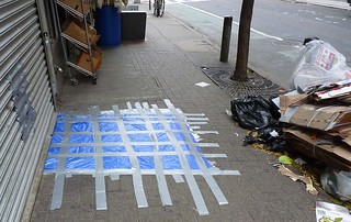 Duct Taped Sidewalk | by GammaBlog
