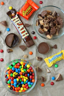 Halloween Candy Bark | by Completely Delicious