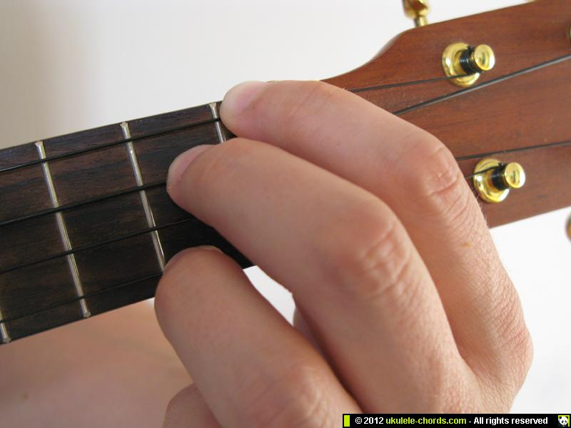 E7 Ukulele Chord How To Play A E7 On The Soprano For Alte Flickr