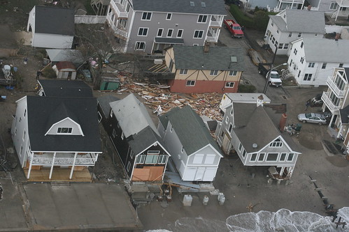 Aerial assessment of Hurricane Sandy damage in Connecticut | by Office of Governor Dan Malloy