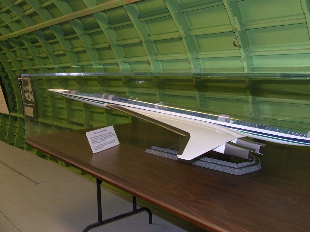 ... Boeing 2707 (SST – Supersonic Transport) Scale Model 4 | by Jack Snell -