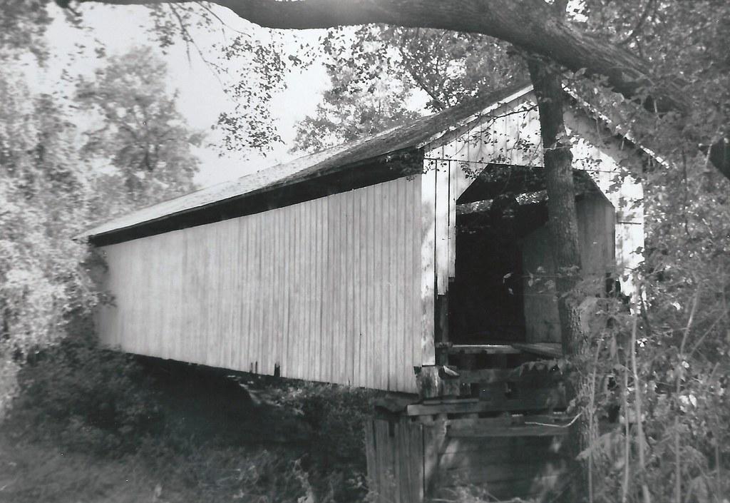 Polk County Iowa Owens Covered Bridge November 11