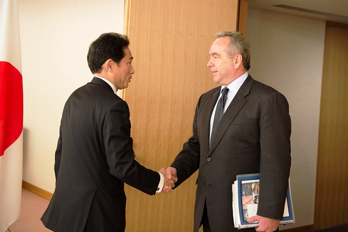 Assistant Secretary Campbell Is Greeted By Japanese Foreign Minister Kishida | by U.S. Department of State