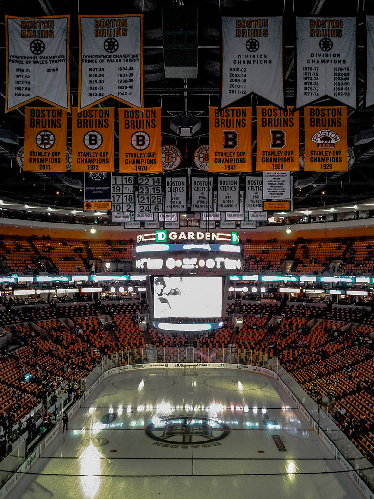 Boston Bruins Stanley Cup Banners TD Garden Boston Bruin Flickr