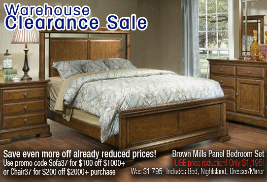 Max Furniture Warehouse Clearance Sale Brown Mills Panel B Flickr